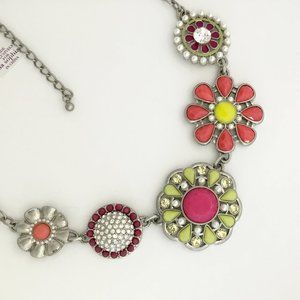 Lia Sophia Flower Pot Necklace